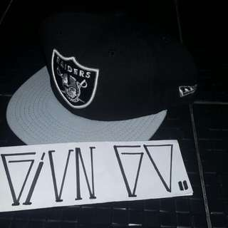 Raiders Fitted 7 5/8