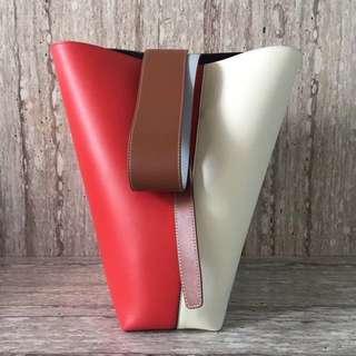 Celine Cabas Twisted桶包現貨尺寸25-12.5-37