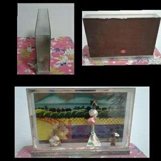 1970s Glass Japanese Display
