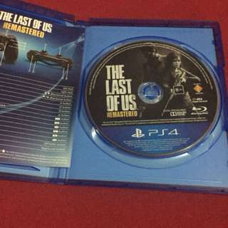 PS4 The Last Of Us (Remastered)