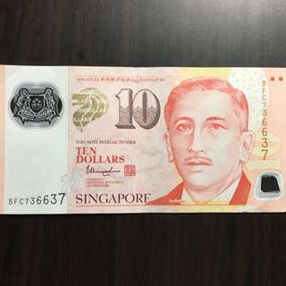 5FC-736637 ten dollar