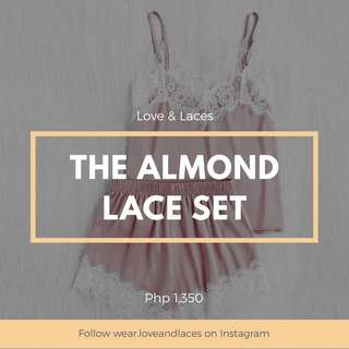 Almond Lace Set
