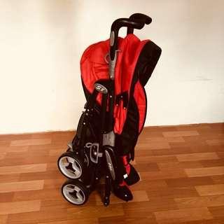 Halford S8 Pramette Stroller Red