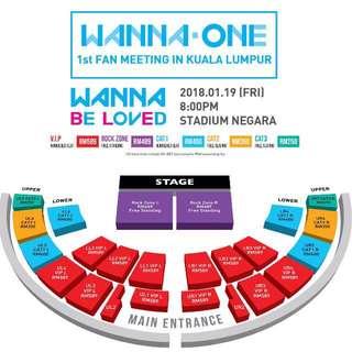 ❗️URGENT❗️WTB WANNA ONE FAN MEETING IN MALAYSIA <WANNA BE LOVED>