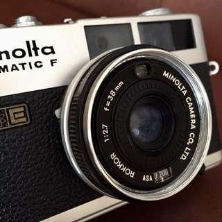 Minolta Hi-Matic F Camera