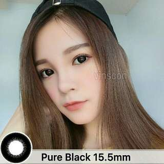 Pure Black Soft Contact Lens (KOREA)