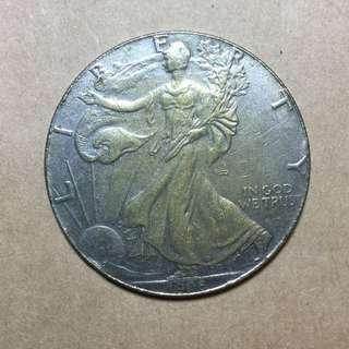 1900年 美金