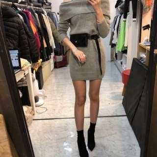 🈹🈹🈹party dress sexy 韓國直送!針織連身裙,靚料 高質!唔係淘寶野
