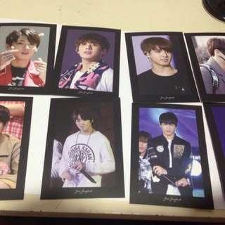 Jungkook photocard set