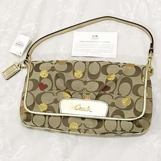 ⚡️REDUCED⚡️(BNWT) 💯 Authentic COACH Valentine Handbag