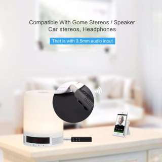 3.5mm Jack Bluetooth Audio Receiver for Stereo/Car with multiple functions