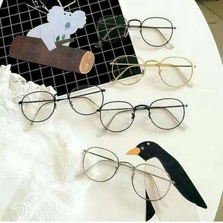 Thin Frame Plain Glasses