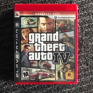 PS3 - Grand Theft Auto IV (GTA4)