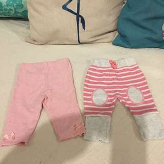 Baby Girls Leggings From UK 0-3m