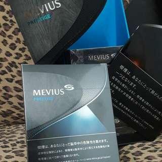 日本機場限定版 七星MEVIUS黑色鐵盒