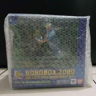 Figuarts Zero One Piece Roronoa Zoro 20th Anniversary (Japan Stock)