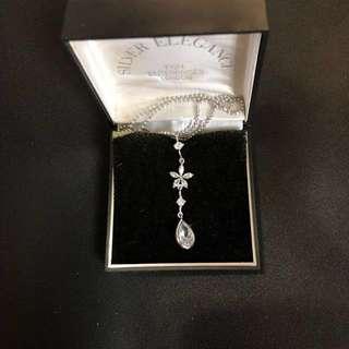 銀 頸鏈 silver necklace 頸鍊 純銀