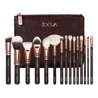 🌻Zoeva 15pcs Brush Set