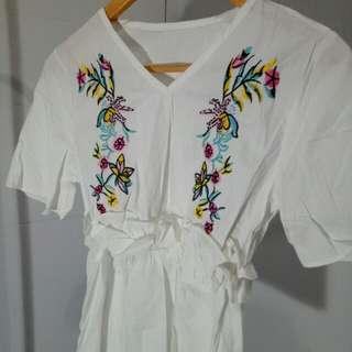 Baju  cewek / baju wanita / kimono flower