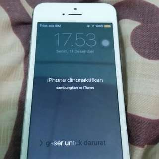 iPhone 5s Lock disable