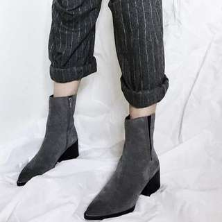 Sam Edelman Raylan Boots In Slate