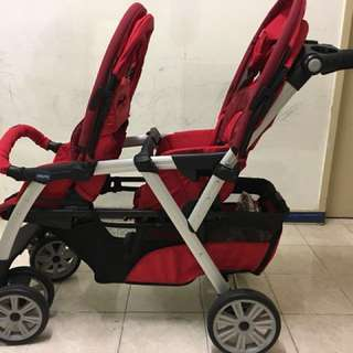 Baby stroller 2 seaters
