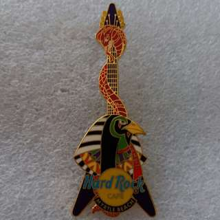 Hard Rock Cafe Pins ~ MYRTLE BEACH HOT FLYING V GUITAR WITH EGYPTIAN GOD AND SNAKE!