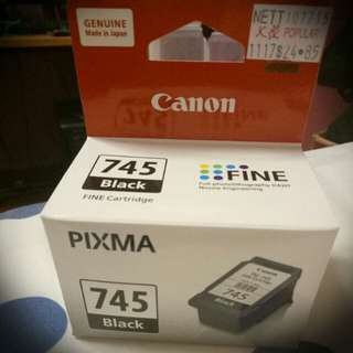 Canon PIXMA 745 Black Ink Cartridge