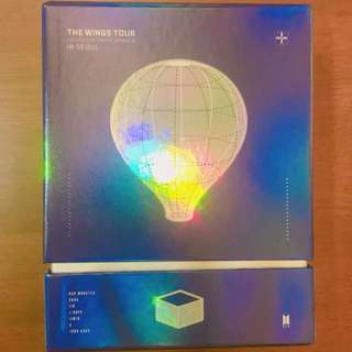 BTS The Wings Tour DVD