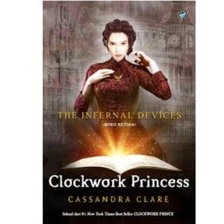 Ebook Clockwork: Princess - Cassandra Clare