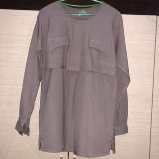 Nursing blouse- L/XL