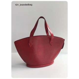 Louis Vuitton Epi Saint Jacques Tote Bag