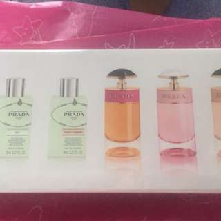 Prada mini perfume collection