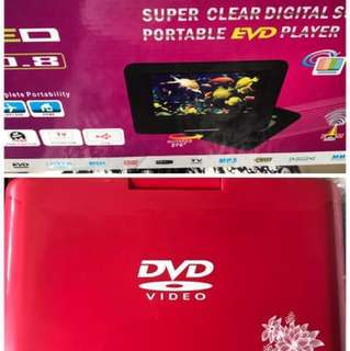 Portable Enhanced Versatile Disc (EVD) Player