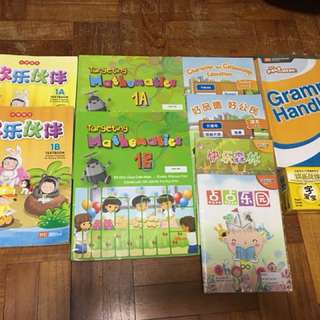 P1 Jurong Primary School text books