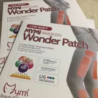 Mymi Wonder Patch (lower body treatment Patch)