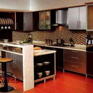 Kitchen set minimalis klasik mewah