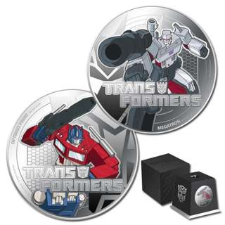 Niue 2013 Transformer Silver 2-Coin Set
