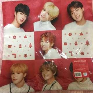 BTS SHIBUYA 109 XMAS Pillowcase