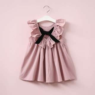 Lovely Ribbon Pink Dress
