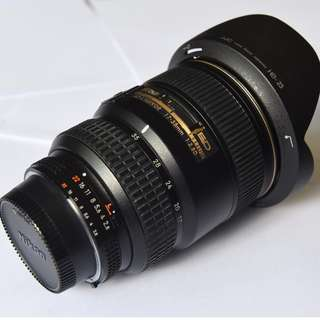 NIKON 17 - 35 mm , F2.8