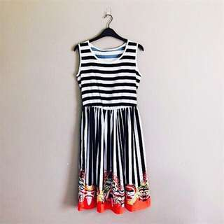 Brand New Casual Dress with Prints Brand New Casual Dress with Prints