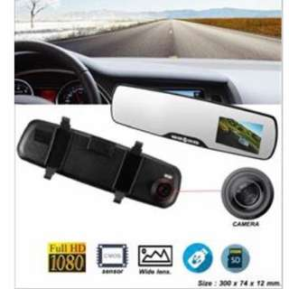 HD Mirror Car Camera Recorder