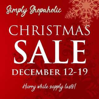 SImply Shopaholic now on SALE!