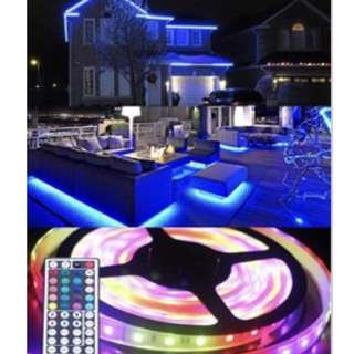 LED Light Strip with Remote Control