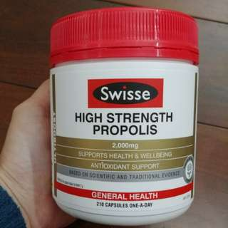 Swisse 蜂膠High Strength Propolis 210 Capsules