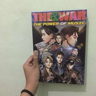 album repackage the war exo + poster
