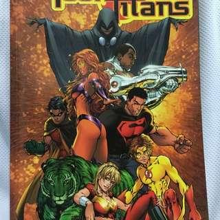 Teen Titans 4 Book Set