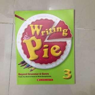 Writing Pie 3
