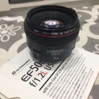 Canon EF 50mm F1.2L (used)